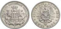 2 Mark 1876 HAMBURG  Sehr schön  66.72 £ 80,00 EUR  +  6.67 £ shipping