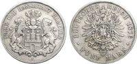 5 Mark 1876 HAMBURG  Sehr schön  58.54 £ 70,00 EUR  +  6.69 £ shipping