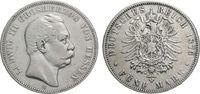 5 Mark 1876 Hessen  Schön  66.90 £ 80,00 EUR  +  6.69 £ shipping