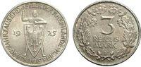 3 Mark 1925 F WEIMARER REPUBLIK Jahrtausendfeier der Rheinlande Vorzügl... 41.70 £ 50,00 EUR  +  6.67 £ shipping