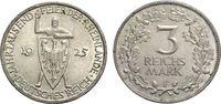 3 Mark 1925 F WEIMARER REPUBLIK Jahrtausendfeier der Rheinlande Vorzügl... 41.81 £ 50,00 EUR  +  6.69 £ shipping