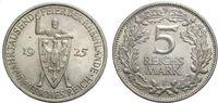 5 Mark 1925 F WEIMARER REPUBLIK Jahrtausendfeier der Rheinlande Vorzügl... 66.72 £ 80,00 EUR  +  6.67 £ shipping