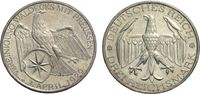 3 Mark 1929 A WEIMARER REPUBLIK Waldeck Vorzüglich  83.63 £ 100,00 EUR  +  6.69 £ shipping