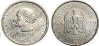 3 Mark 1931 A WEIMARER REPUBLIK Frh. vom Stein Vorzüglich  83.63 £ 100,00 EUR  +  6.69 £ shipping