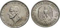2 Mark 1934 F DRITTES REICH Schiller Sehr schön  58.54 £ 70,00 EUR  +  6.69 £ shipping