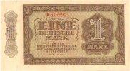 Banknote 1948 DEUTSCHLAND, DEUTSCHE NOTENBANK. Eine Deutsche Mark. I  152.83 £ 180,00 EUR  +  6.79 £ shipping