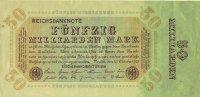 Reichsbanknote 1923 DEUTSCHLAND 50 Milliarden Mark. III  21.23 £ 25,00 EUR  +  6.79 £ shipping