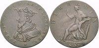 Cu Halfpenny Token c. 1790 BRITISCHE TRADE TOKEN IRELAND: WICKLOW, CRON... 16.32 £ 20,00 EUR  +  6.53 £ shipping