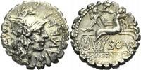 Serratus 118 v. Chr.  ROM, REPUBLIK L. PORCIUS LICINIUS Schön-gutes seh... 118.87 £ 140,00 EUR  +  6.79 £ shipping