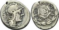 Denar 127 v. Chr.  ROM, REPUBLIK M. CAECILIUS METELLUS Sehr schön  130.55 £ 160,00 EUR  +  6.53 £ shipping