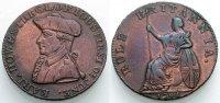 Halfpenny-Token 1794 ENGLAND Earl Howe Sehr schön  25.47 £ 30,00 EUR  +  6.79 £ shipping