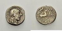 AR Denar 123 v. Chr.  RÖMISCHE REPUBLIK M. FANNIUS Sehr schön  57.12 £ 70,00 EUR  +  6.53 £ shipping