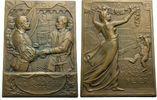 Bronzeplakette 1901 BASEL von Hans Frei Vorzüglich  31.46 £ 40,00 EUR