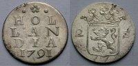 Doppelstuiver 1791 HOLLAND Englischer Beischlag für den Handel mit Südo... 29.72 £ 35,00 EUR  +  6.79 £ shipping