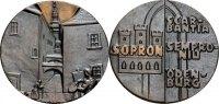 Bronzemedaille o. J. Sopron (von K. Renner) Gussfrisch  65.27 £ 80,00 EUR  +  6.53 £ shipping
