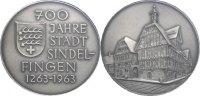Silbermedaille 1963 SINDELFINGEN  Prägefrisch  40.80 £ 50,00 EUR  +  6.53 £ shipping