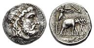 AR Tetradrachmon 295-281 v. Chr. KÖNIGREIC...