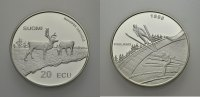 AR 20 Ecu 1998 EUROPÄISCHE UNION FINNLAND Polierte Platte  28.56 £ 35,00 EUR  +  6.53 £ shipping