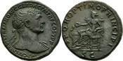 Sesterze 98-117 n.Chr. Italien/Rom Traian ...