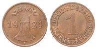 1 Pfennig 1924 E Weimarer Republik  sehr schön / vorzüglich  231.47 £ 275,00 EUR free shipping