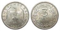 3 Mark Kursmünze 1931 A Weimarer Republik  wz. Randfehler, besser als v... 261.68 £ 335,00 EUR