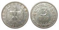 3 Mark Kursmünze 1931 G Weimarer Republik  knapp vorzüglich  324.17 £ 415,00 EUR