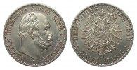 2 Mark Preussen 1876 B Kaiserreich  vz - vz/St  464.78 £ 595,00 EUR