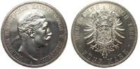 5 Mark Preussen Wilhelm II 1888 A Kaiserreich  wz. Kratzer, vz/St aus p... 1324.03 £ 1695,00 EUR