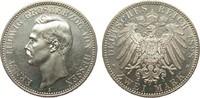 2 Mark Hessen 1898 A Kaiserreich  vz  /  St aus Erstabschlag  1245.92 £ 1595,00 EUR
