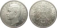 5 Mark Bayern 1893 D Kaiserreich  Bildseite vz/St, Adlerseite f.St  621.01 £ 795,00 EUR