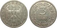 3 Mark Kursmünze 1931 E Weimarer Republik  sehr schön / vorzüglich  269.49 £ 345,00 EUR
