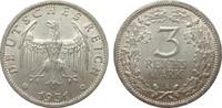 3 Mark Kursmünze 1931 A Weimarer Republik  vorzüglich  246.41 £ 315,00 EUR free shipping