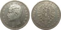 5 Mark Bayern 1888 D Kaiserreich  knapp sehr schön  273.56 £ 325,00 EUR free shipping