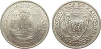 3 Mark Magdeburg 1931 A Weimarer Republik  wz. Kratzer, fast Stempelglanz  222.63 £ 285,00 EUR