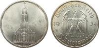 5 Mark Kirche ohne Datum 1934 J PCGS certified  PCGS MS 63  248.31 £ 295,00 EUR free shipping