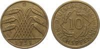 10 Pfennig 1931 G Weimarer Republik  gutes sehr schön  231.47 £ 275,00 EUR free shipping