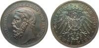 2 Mark Baden 1902 G Kaiserreich  min. Haarlinien, polierte Platte  6210.07 £ 7950,00 EUR