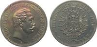2 Mark Hessen 1876 H Kaiserreich  wz. Kr., berieben, polierte Platte  6991.21 £ 8950,00 EUR