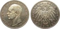 2 Mark Oldenburg 1901 A Kaiserreich  min. Haarlinien, polierte Platte  1089.69 £ 1395,00 EUR