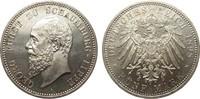 5 Mark Schaumburg-Lippe 1898 A Kaiserreich  kl. Kratzer, polierte Platte  2100.10 £ 2495,00 EUR free shipping
