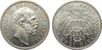2 Mark Anhalt 1896 A Kaiserreich  Bildseite wz. Kratzer, fast Stempelgl... 769.42 £ 985,00 EUR