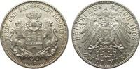 2 Mark Hamburg 1905 J Kaiserreich  min. Randfehler, besser als vorzügli... 386.66 £ 495,00 EUR