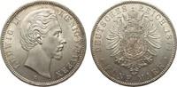 5 Mark Bayern 1874 D Kaiserreich  kl. Kratzer, fast Stempelglanz  929.56 £ 1190,00 EUR