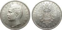 5 Mark Bayern 1888 D Kaiserreich  min. Rf., Bildseite vz, Adlerseite vz+  777.24 £ 995,00 EUR