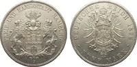 5 Mark Hamburg 1876 J Kaiserreich  vorzüglich / Stempelglanz  1163.90 £ 1490,00 EUR