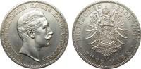 5 Mark Preussen Wilhelm II 1888 A Kaiserreich  vorzüglich / Stempelglanz  995.82 £ 1195,00 EUR free shipping