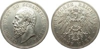 5 Mark Schaumburg-Lippe 1904 A Kaiserreich  vorzüglich  1402.15 £ 1795,00 EUR
