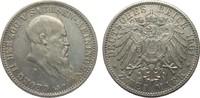 2 Mark Sachsen-Meiningen 1901 D Kaiserreich  sehr schön / vorzüglich  308.55 £ 395,00 EUR