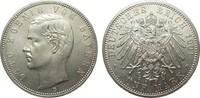 5 Mark Bayern 1901 D Kaiserreich  Bildseite vz/St, Adlerseite f.St  230.44 £ 295,00 EUR