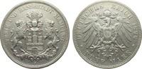5 Mark Hamburg 1896 J Kaiserreich  sehr schön  207.00 £ 265,00 EUR